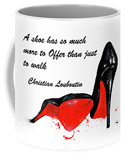 Christian Louboutin Shoes 4 Coffee Mug