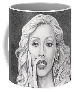 Christina Aguilera Coffee Mug