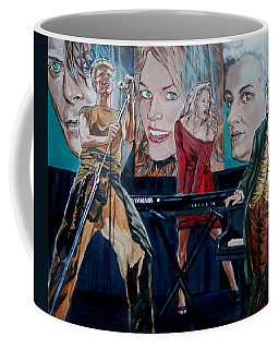 Coffee Mug featuring the painting Christine Anderson Concert Fantasy by Bryan Bustard