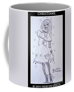 Christinne Coffee Mug by Don Pedro De Gracia