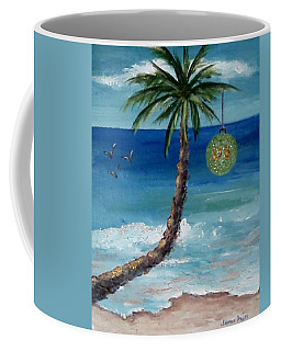 Coffee Mug featuring the painting Christmas 2008 by Jamie Frier