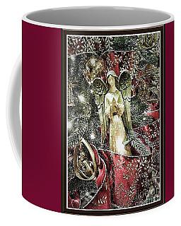 Christmas Angel Greeting Coffee Mug
