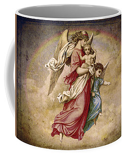 Christmas Angels And Baby Coffee Mug
