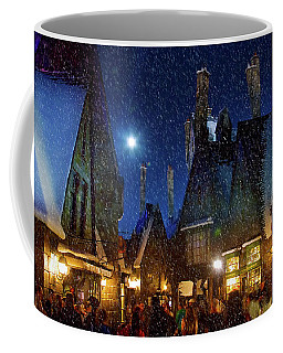 Christmas At Hogsmeade Blank Coffee Mug