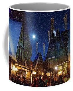 Christmas At Hogsmeade Blank Coffee Mug