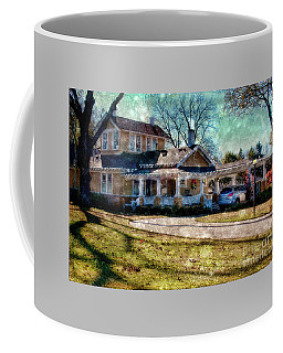 Christmas At Home Coffee Mug by Joan Bertucci