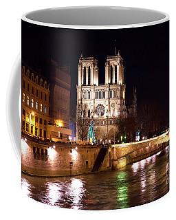 Christmas At Notre Dame Coffee Mug