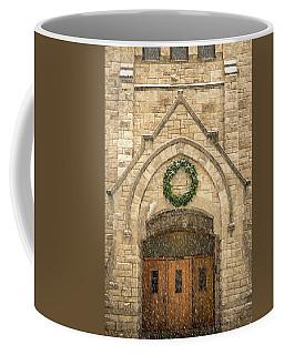 Christmas At Stone Chapel Coffee Mug