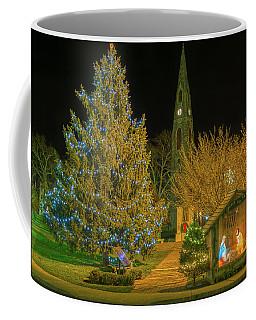 Christmas At The Historic District Of Goshen New York Coffee Mug
