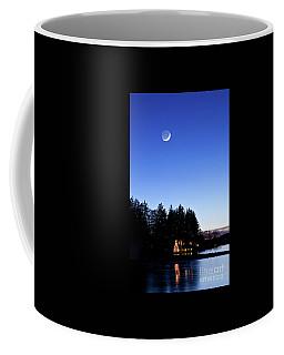 Christmas At The Lake Coffee Mug by Nicki McManus