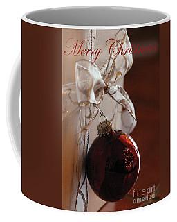 Christmas Ball And Bow Coffee Mug