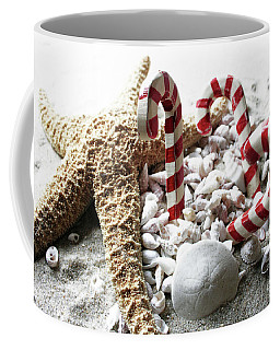 Christmas Beach Star Coffee Mug