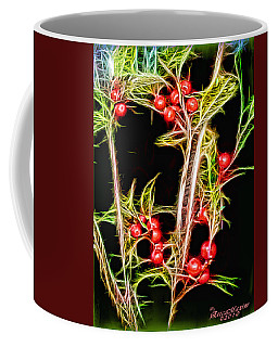 Christmas Berries Coffee Mug by EricaMaxine  Price