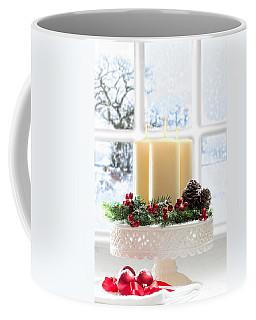 Christmas Candles Display Coffee Mug