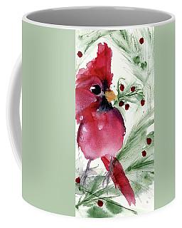 Christmas Cardinal Coffee Mug