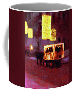 Christmas Carriage Ride In Vienna Coffee Mug