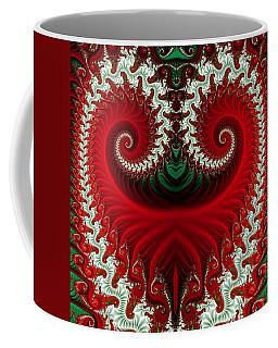Christmas Swirls Coffee Mug