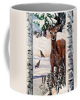 Christmas Deer Friends Coffee Mug