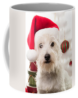 Christmas Elf Dog Coffee Mug