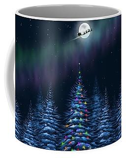 Coffee Mug featuring the painting Christmas Eve by Veronica Minozzi