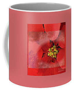 Coffee Mug featuring the photograph Christmas Flower by Ella Kaye Dickey
