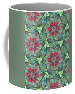 Christmas Flowers Coffee Mug