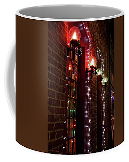Coffee Mug featuring the photograph Christmas Globes by Mick Anderson