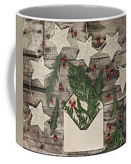 Coffee Mug featuring the photograph Christmas Greens by Kim Hojnacki