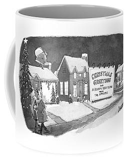 Christmas Greetings From The Applebys Coffee Mug