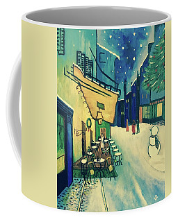 Christmas Homage To Vangogh Coffee Mug
