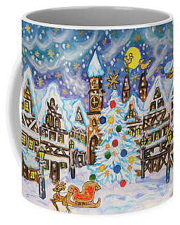 Christmas In Europe Coffee Mug by Irina Afonskaya