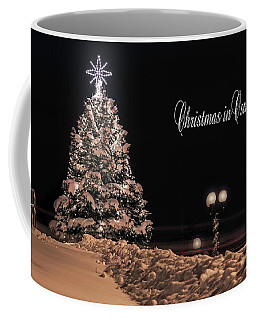 Coffee Mug featuring the photograph Christmas In Oswego by Everet Regal