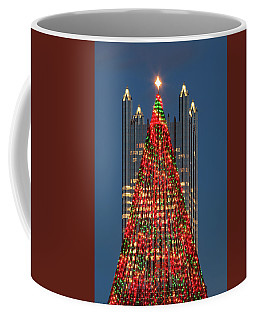 Coffee Mug featuring the photograph Christmas In Pittsburgh 2016  by Emmanuel Panagiotakis