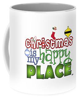 Christmas Is My Happy Place Coffee Mug