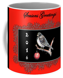 Christmas Junco Coffee Mug