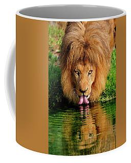 Christmas Lion Coffee Mug