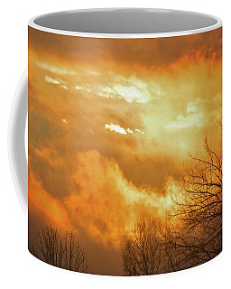 Coffee Mug featuring the photograph Christmas Morning Sunrise by Diane Alexander