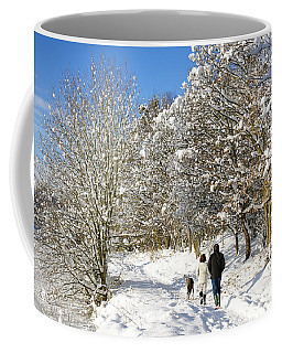 Christmas Morning Walk Coffee Mug