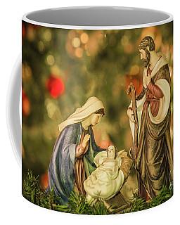 Christmas Nativity Coffee Mug by John Roberts