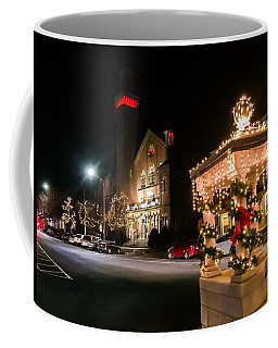 Christmas On Main Street Easthampton Coffee Mug