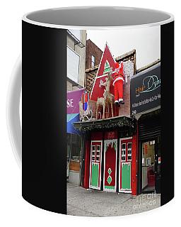 Christmas On Sherman Avenue  Coffee Mug by Cole Thompson