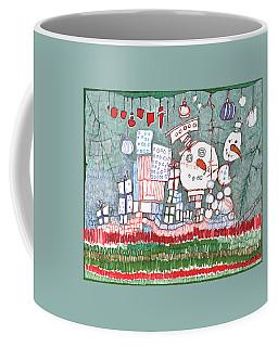 Christmas On The Edge Coffee Mug by Sandra Church