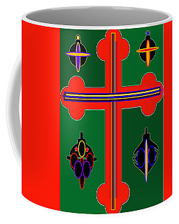 Christmas Ornate 3 Coffee Mug