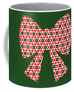 Christmas Paper Pattern Coffee Mug
