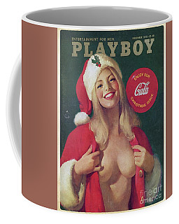 Christmas Playboy Vintage Cover Coffee Mug
