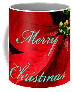 Christmas Poinsettia  Coffee Mug