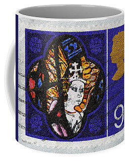 Christmas Postage Stamp Coffee Mug