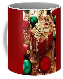 Christmas Present And Ornaments Coffee Mug