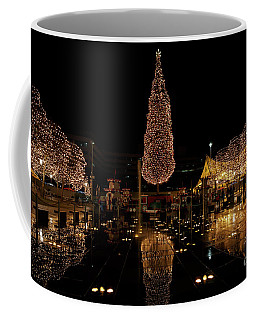 Coffee Mug featuring the photograph Christmas Reflections by Dennis Hedberg