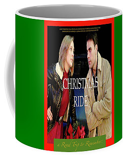 Christmas Ride Poster 16 By Karen E. Francis Coffee Mug